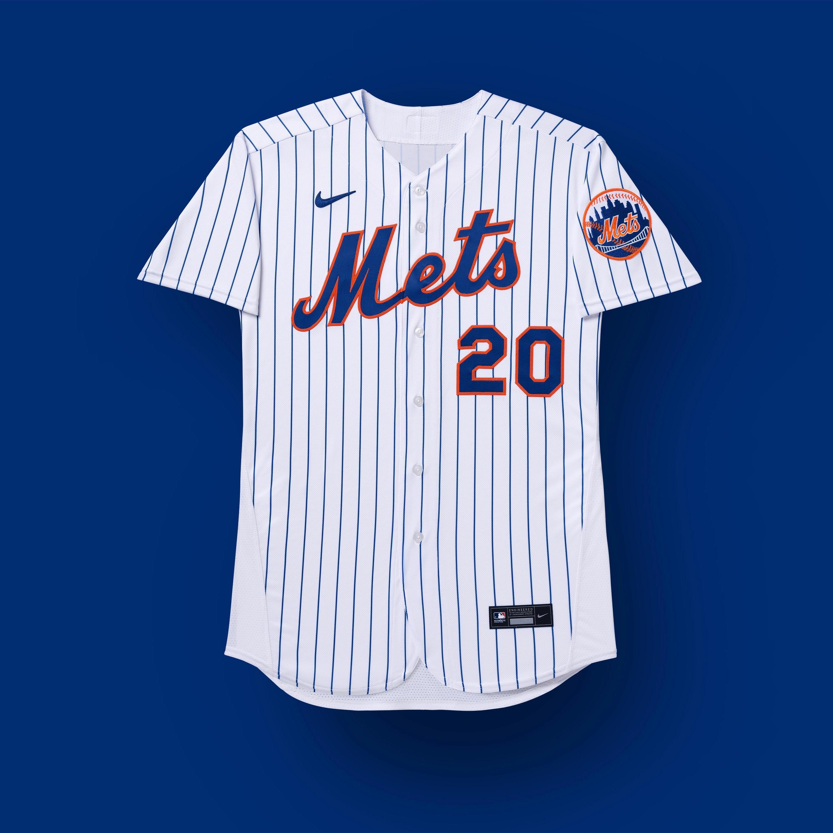 uniformes de los mets de nueva york 2020