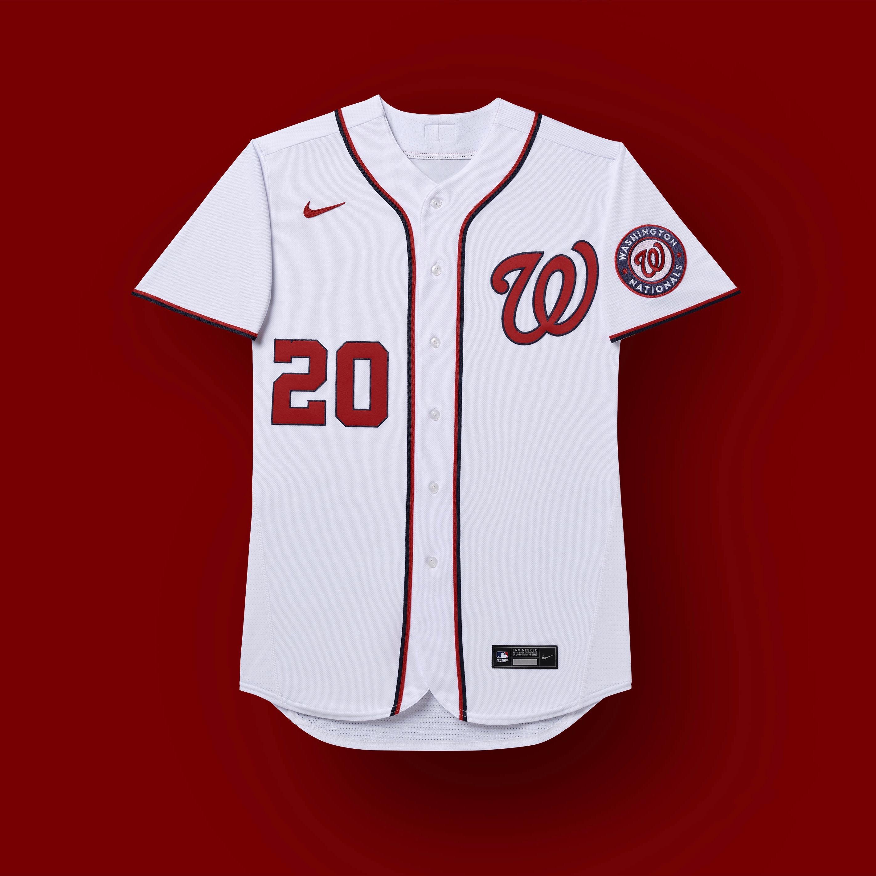 nacionales de washington 2020 uniformes