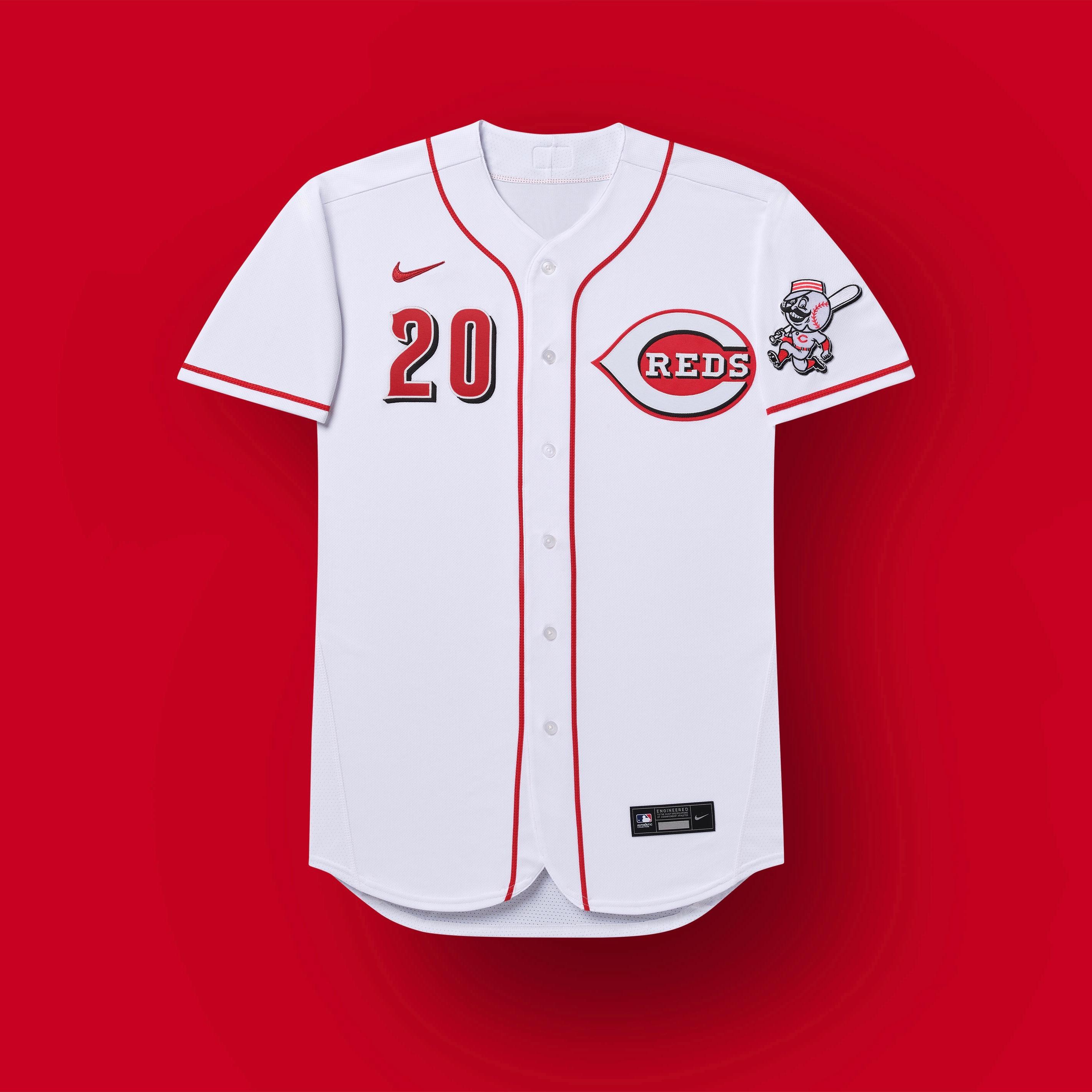 uniformes rojos de cincinnati 2020