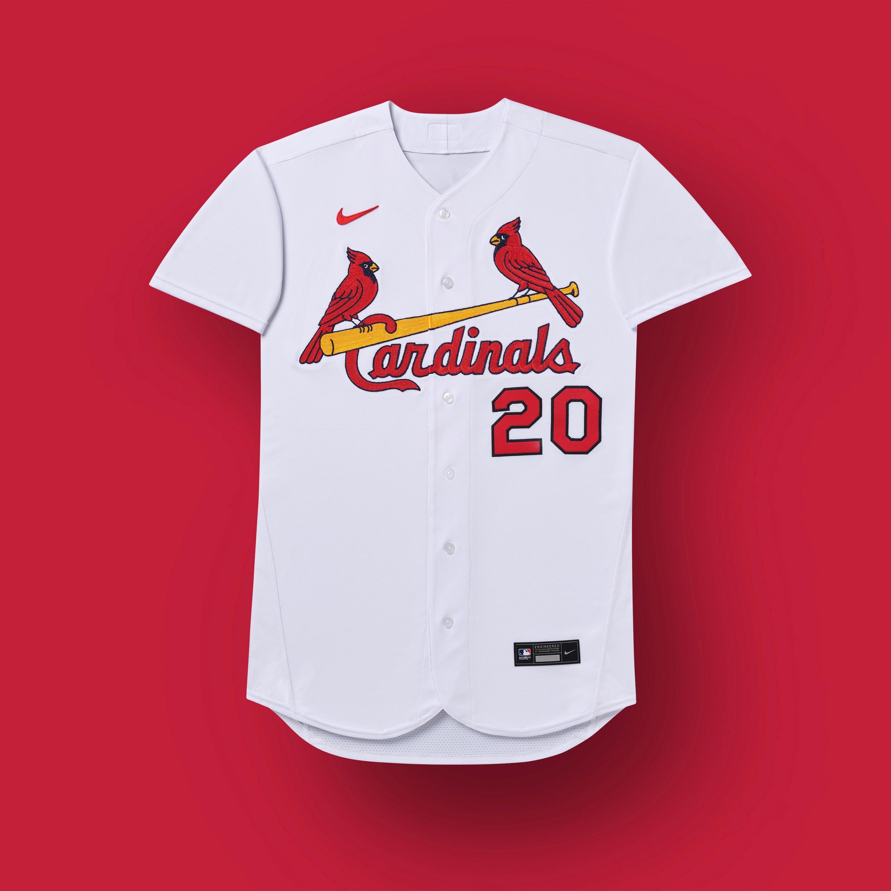 cardenales de st louis 2020 uniforme