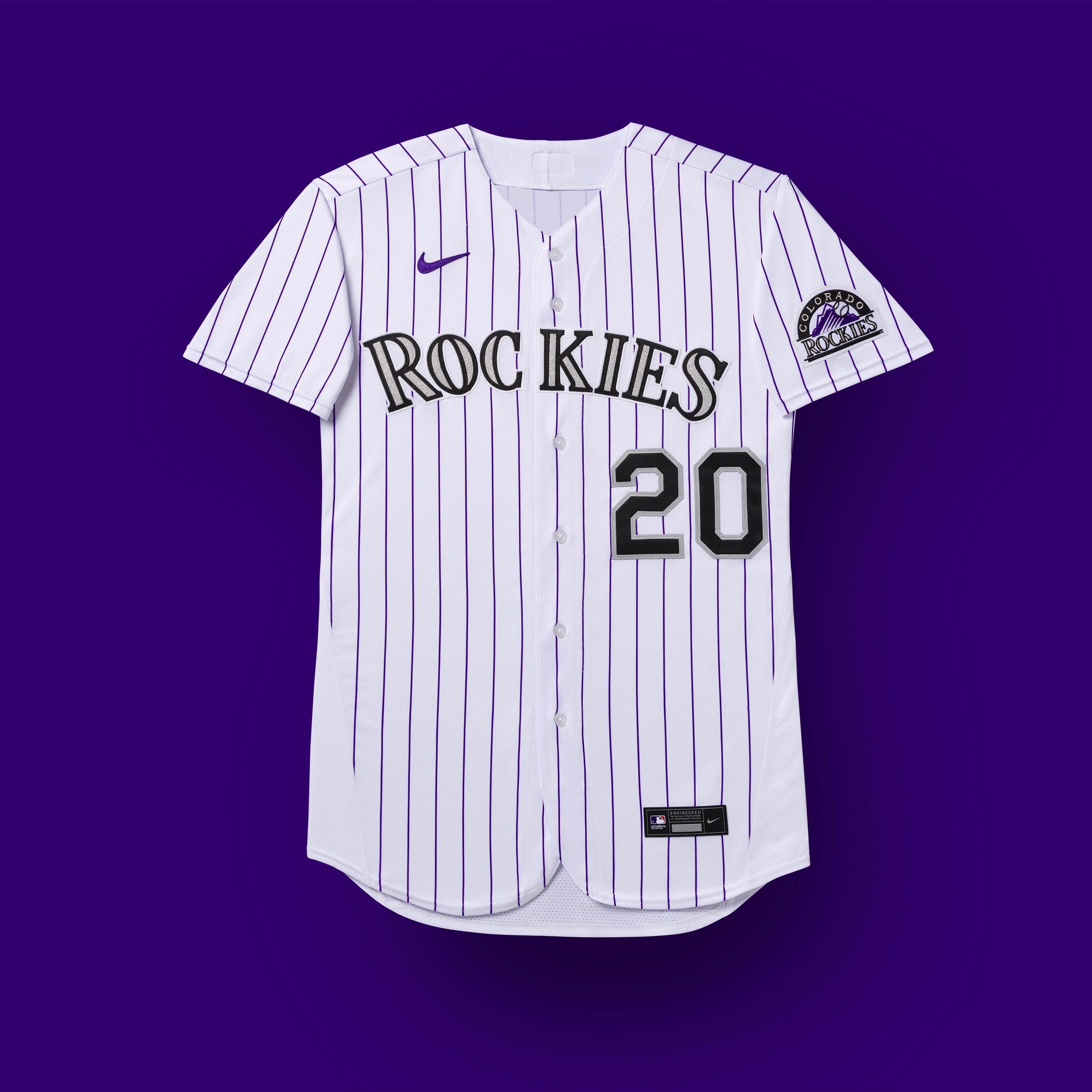 Colorado Rockies 2020 uniformes