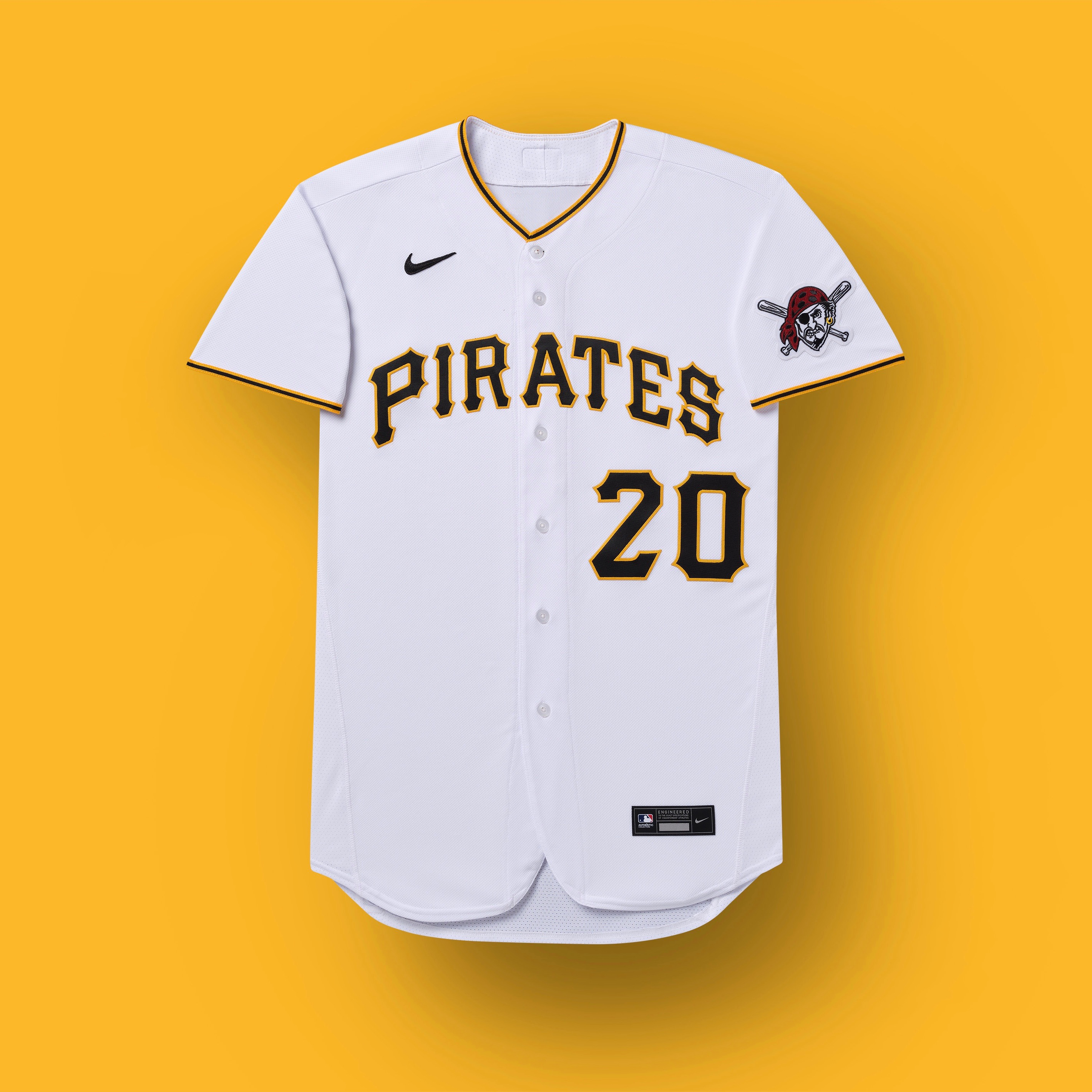 piratas de pittsburgh 2020 uniforme
