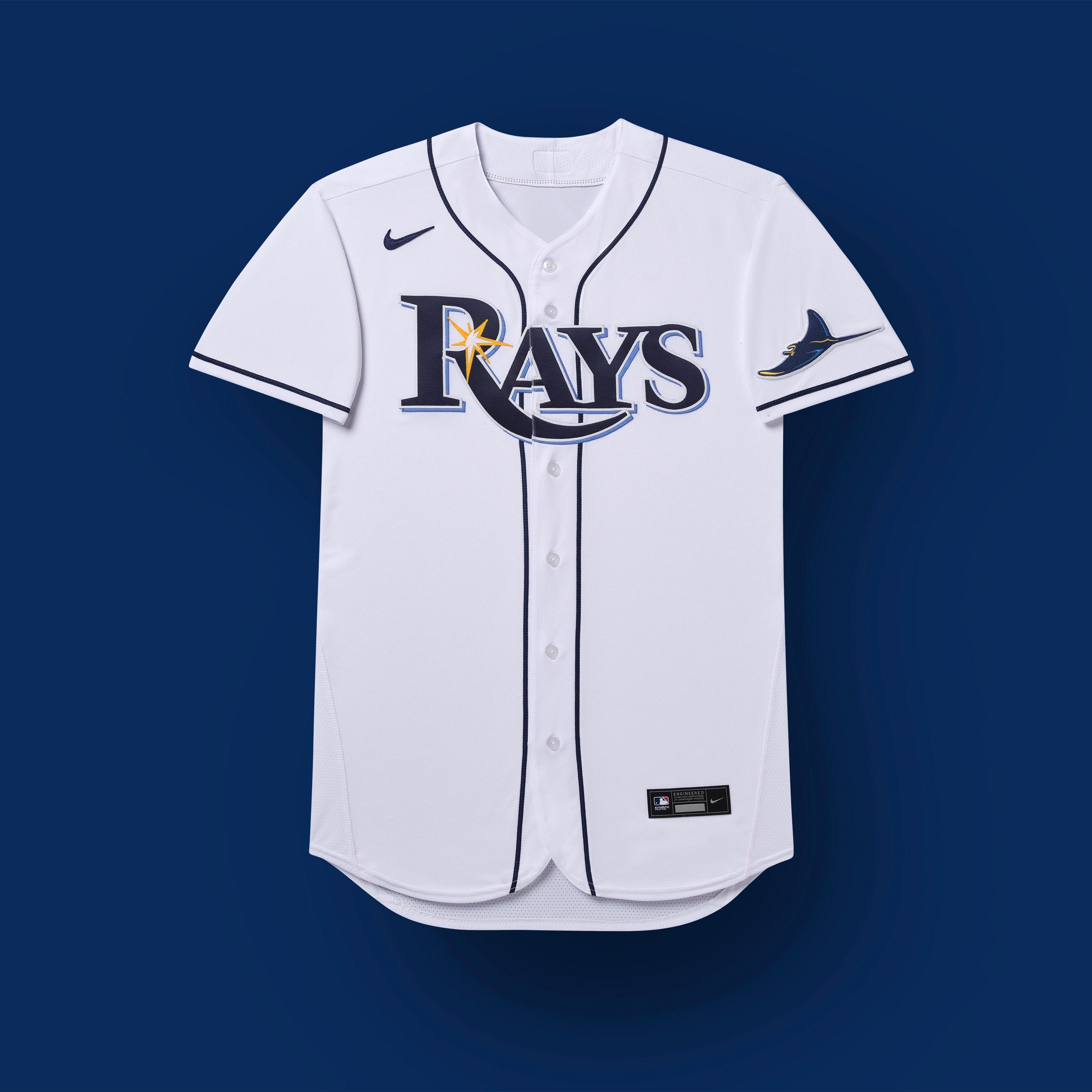 uniformes de tampa bay rays 2020