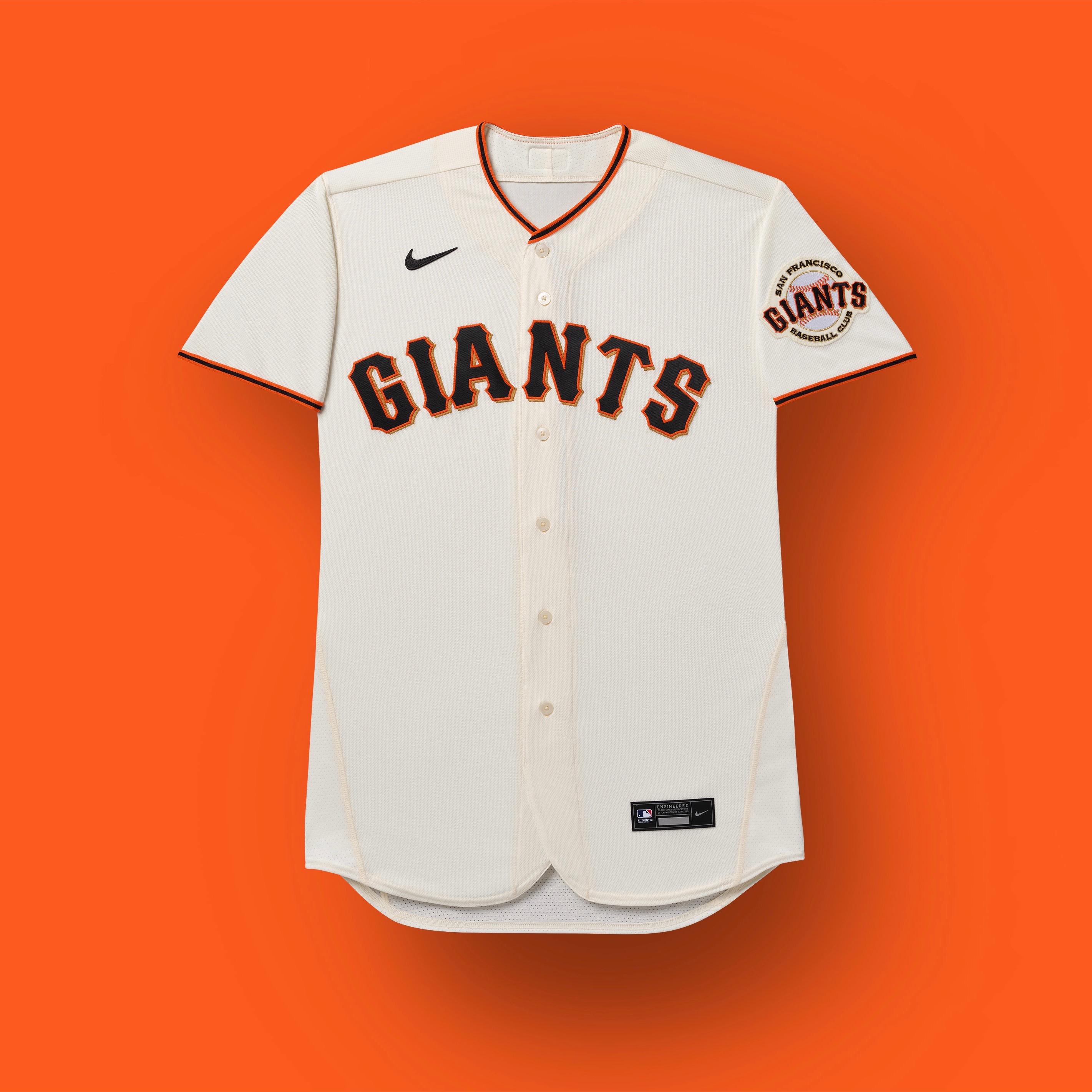 uniforme de los gigantes de san francisco 2020