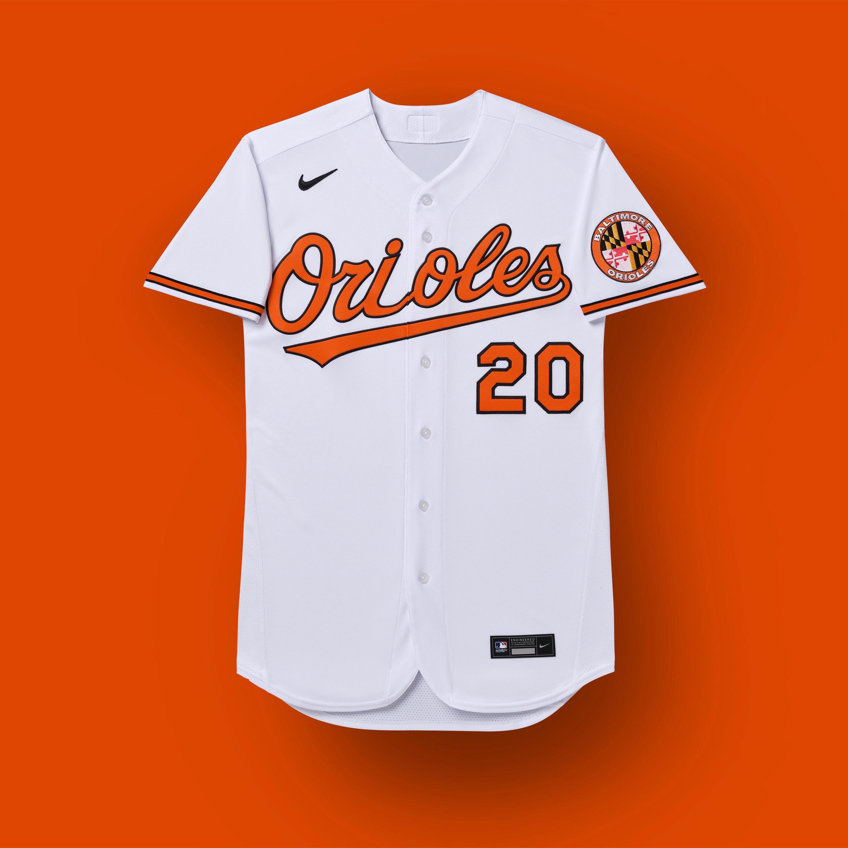 uniformes de balio orioles 2020