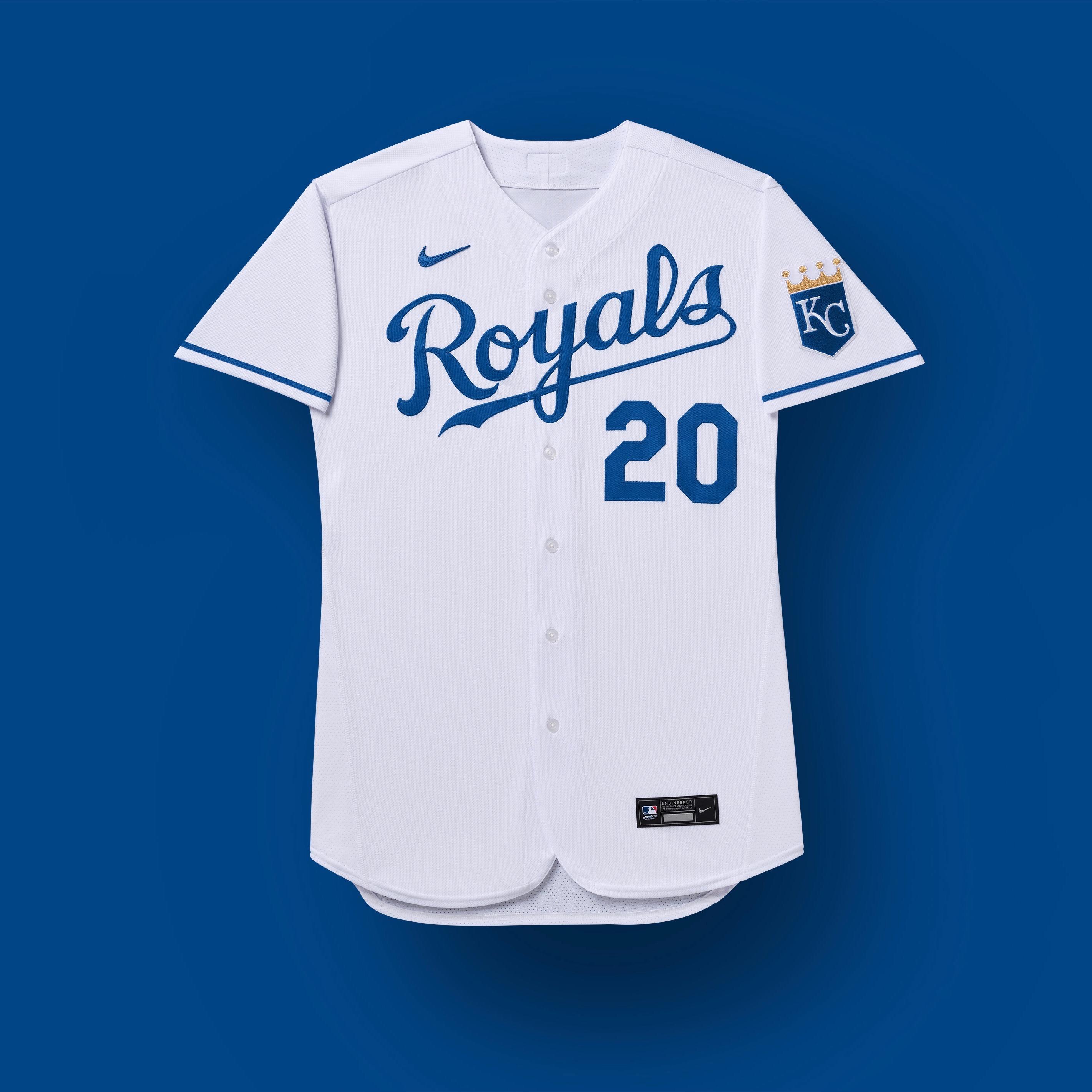 uniformes de kansas city royals 2020