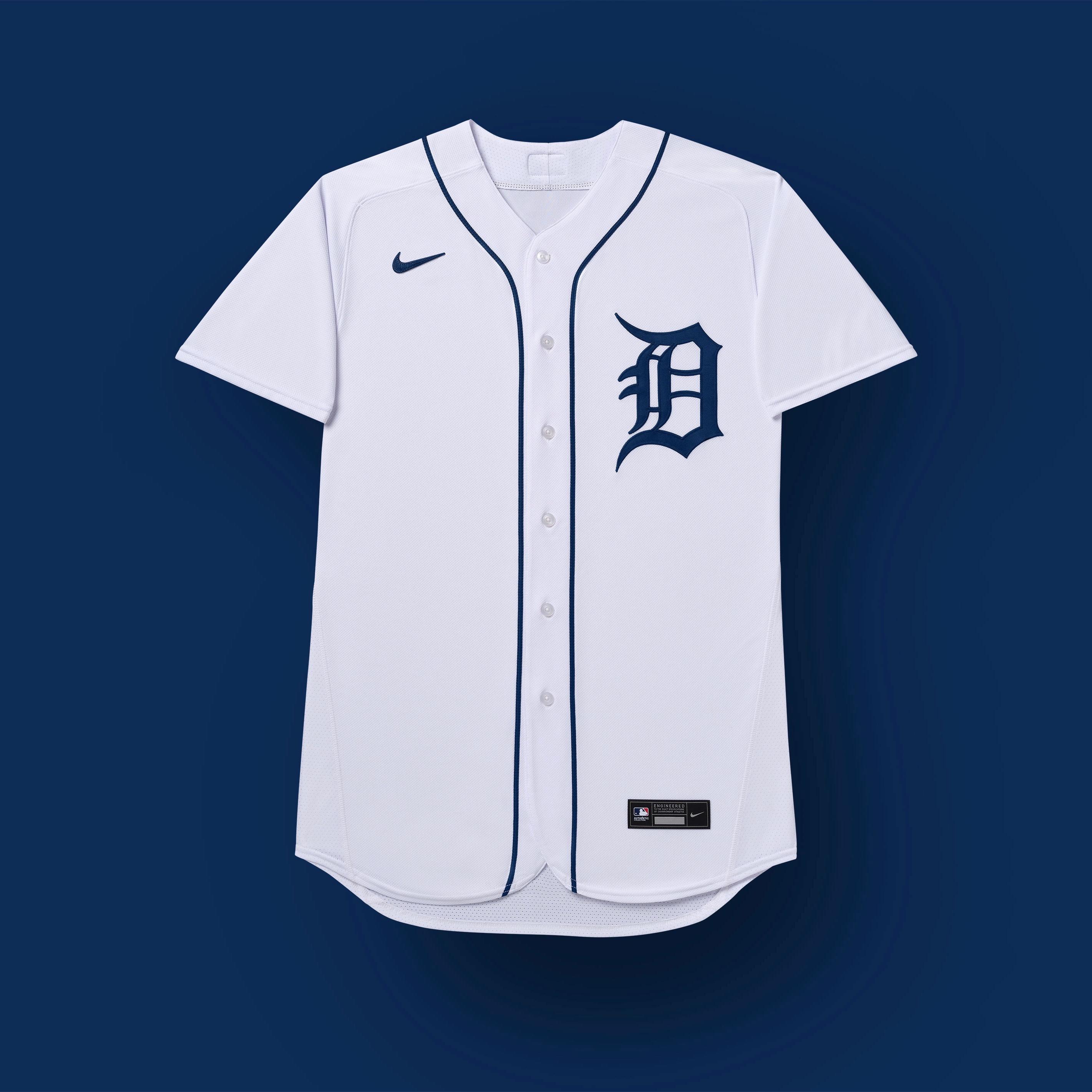 uniformes de los tigres 2020 de Detroit