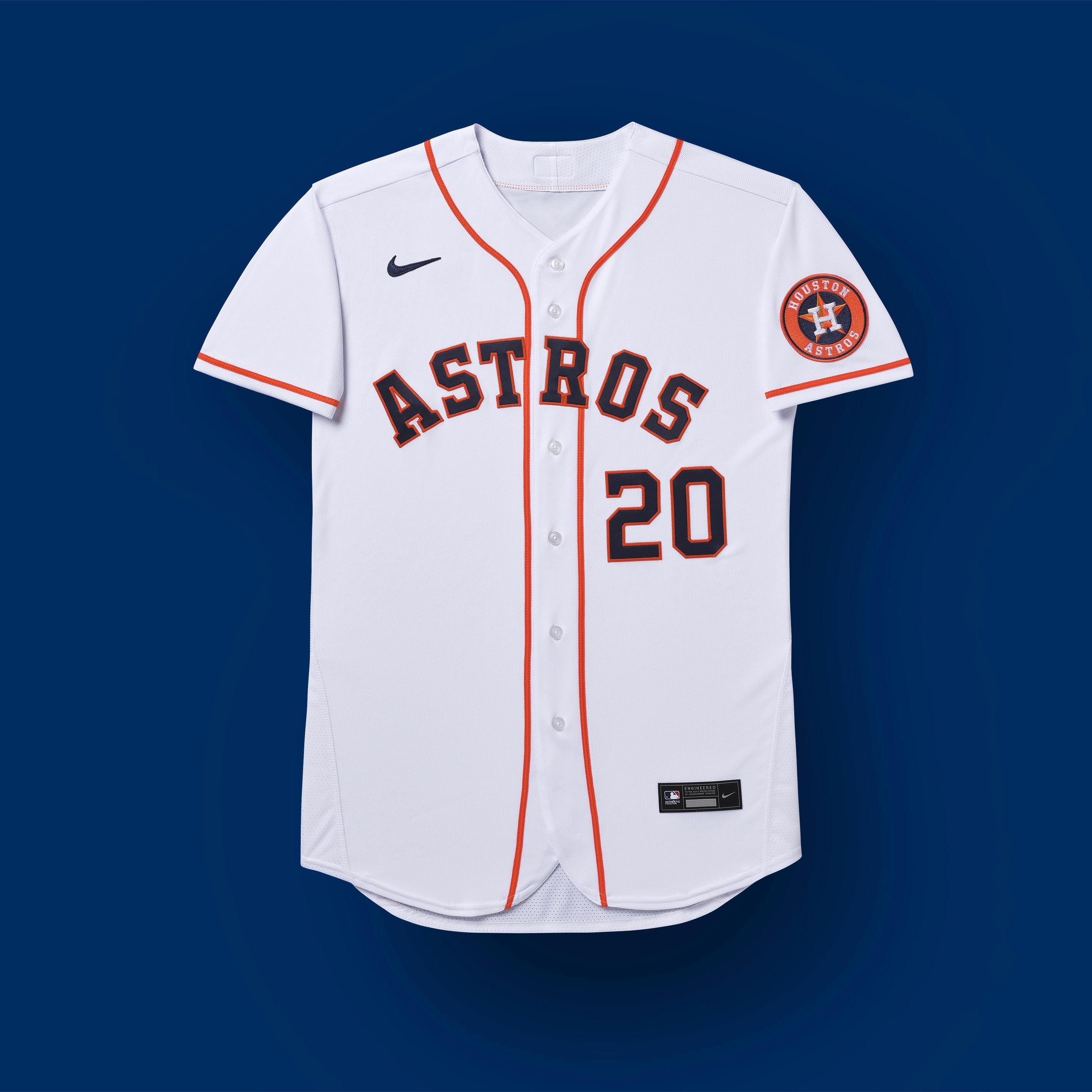 Houston Astros 2020 uniformes