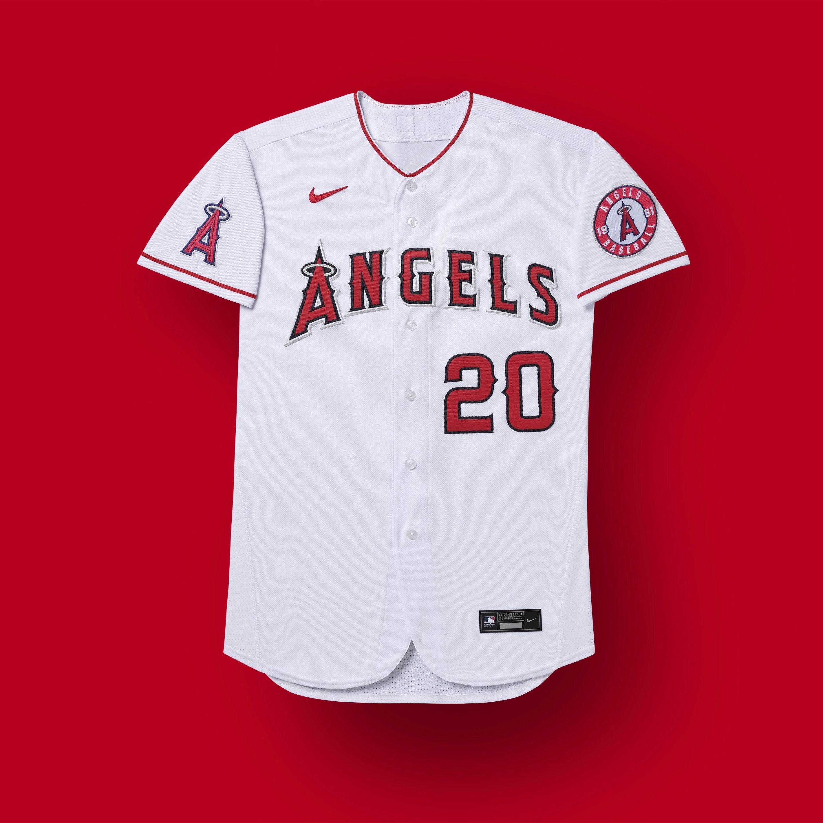 los angeles angels 2020 uniformes