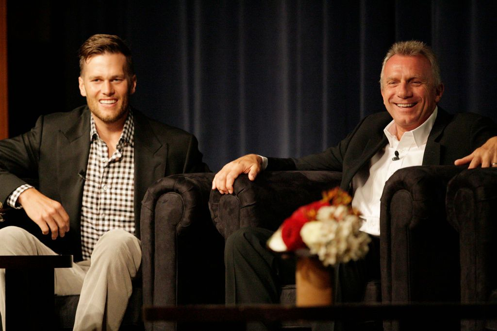 Joe Montana Has Career Advice for Tom Brady