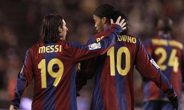 Messi asigna $ 4 millones en un intento de salvar a Ronaldinho