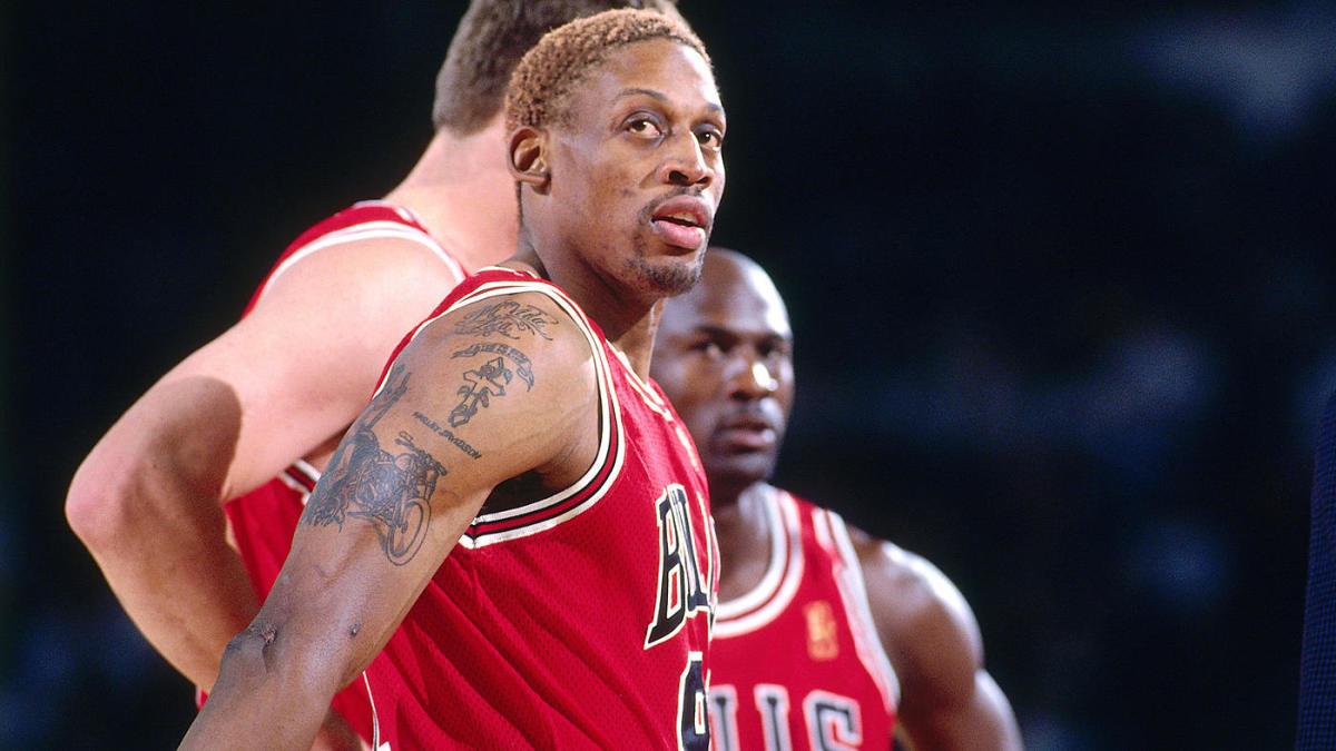 Una línea de tiempo de la temporada de Rodman con Bulls