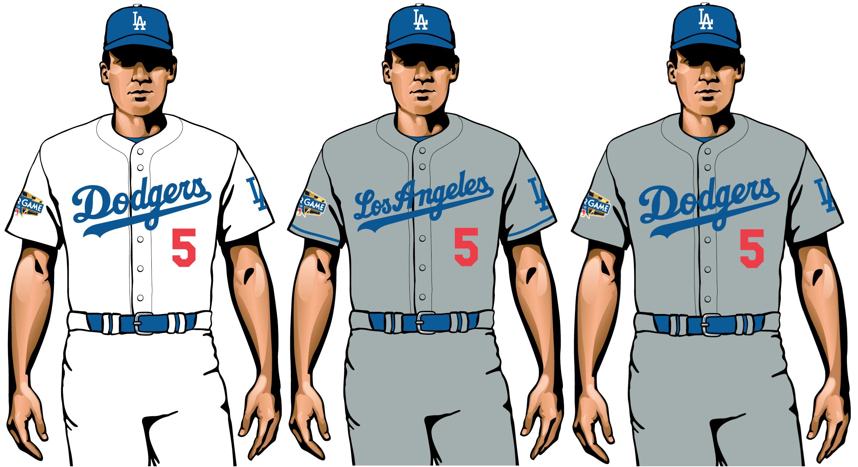 uniformes la dodgers 2020