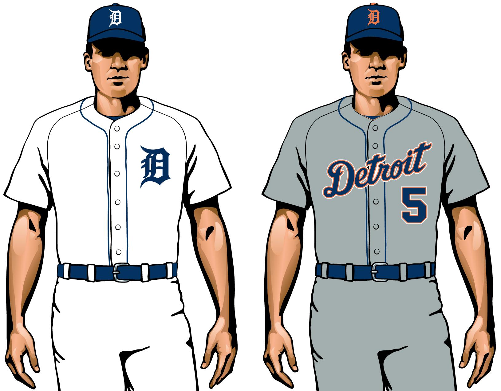 Detroit Tigers 2020 uniforme