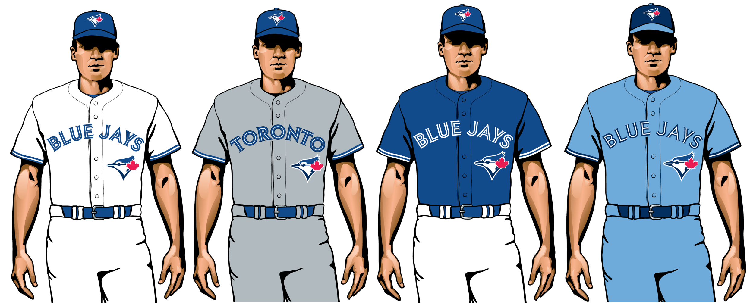 uniformes de toronto blue jays 2020