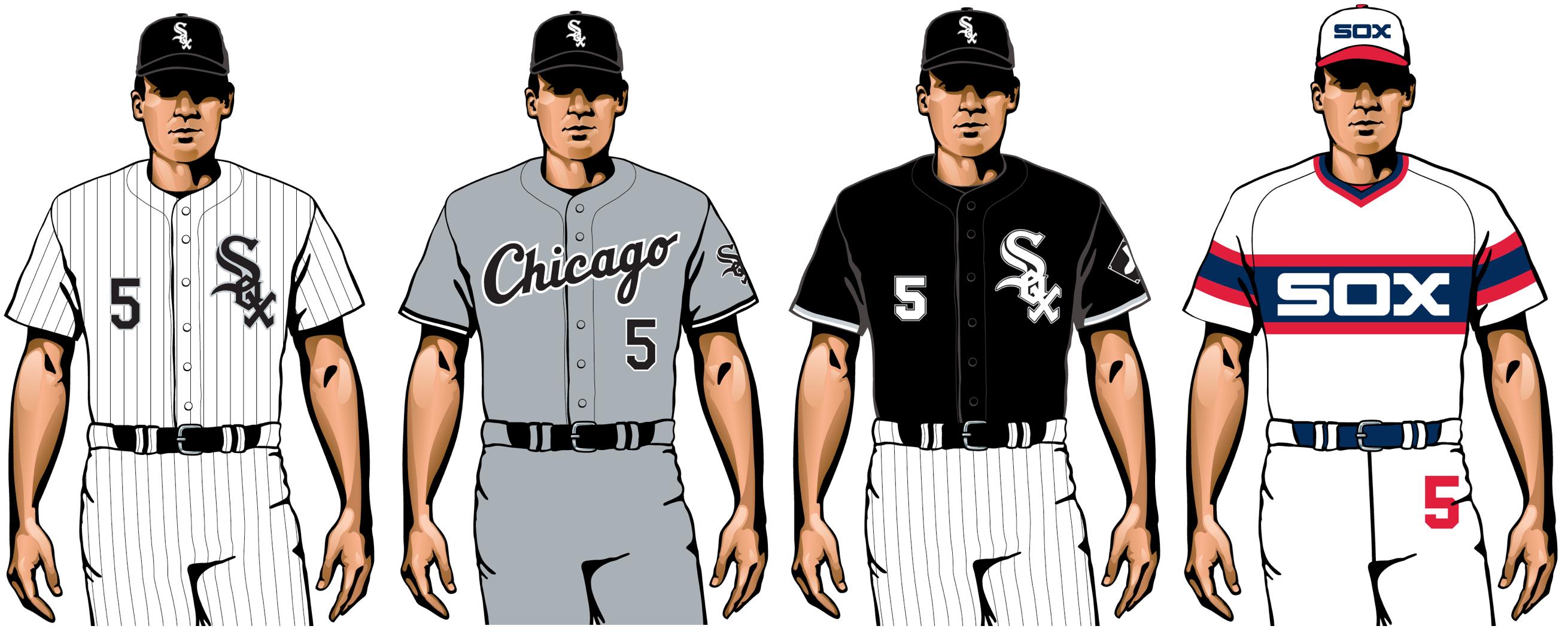Chicago White Sox 2020 uniformes