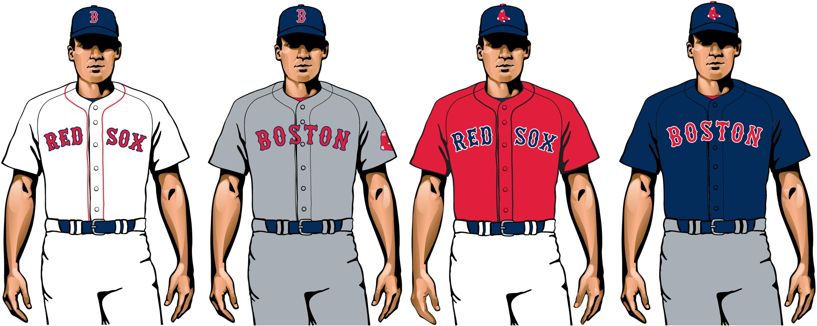 Boston Red Sox 2020 uniformes