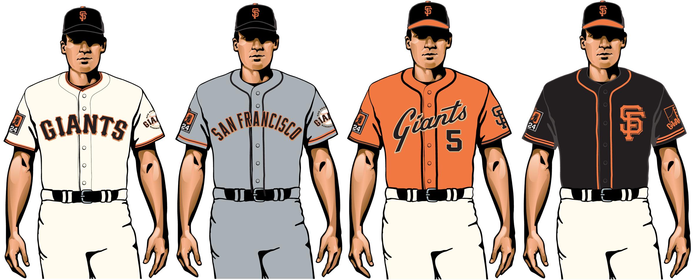uniformes de san francisco gigantes 2020