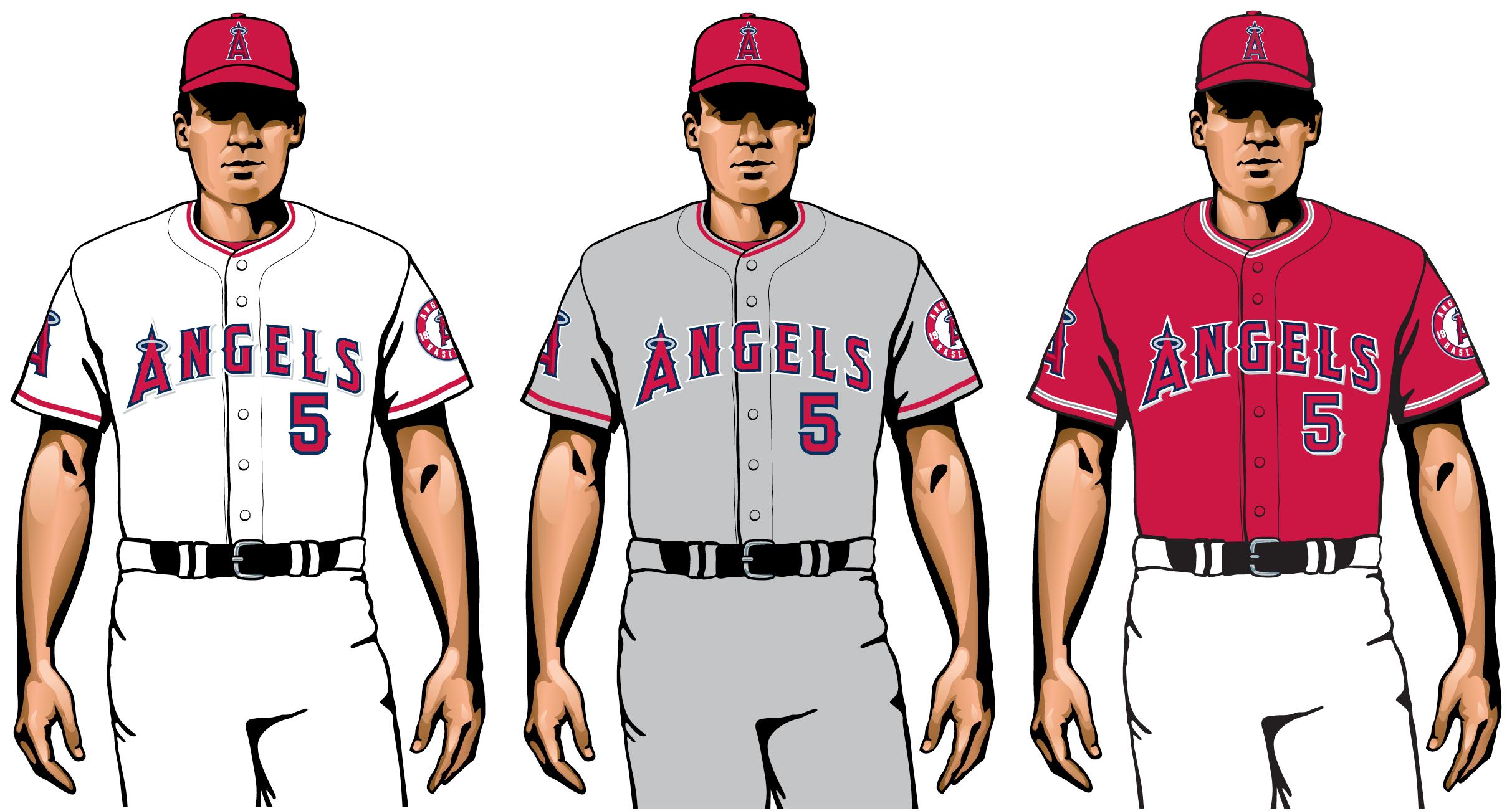 ángeles 2020 uniformes