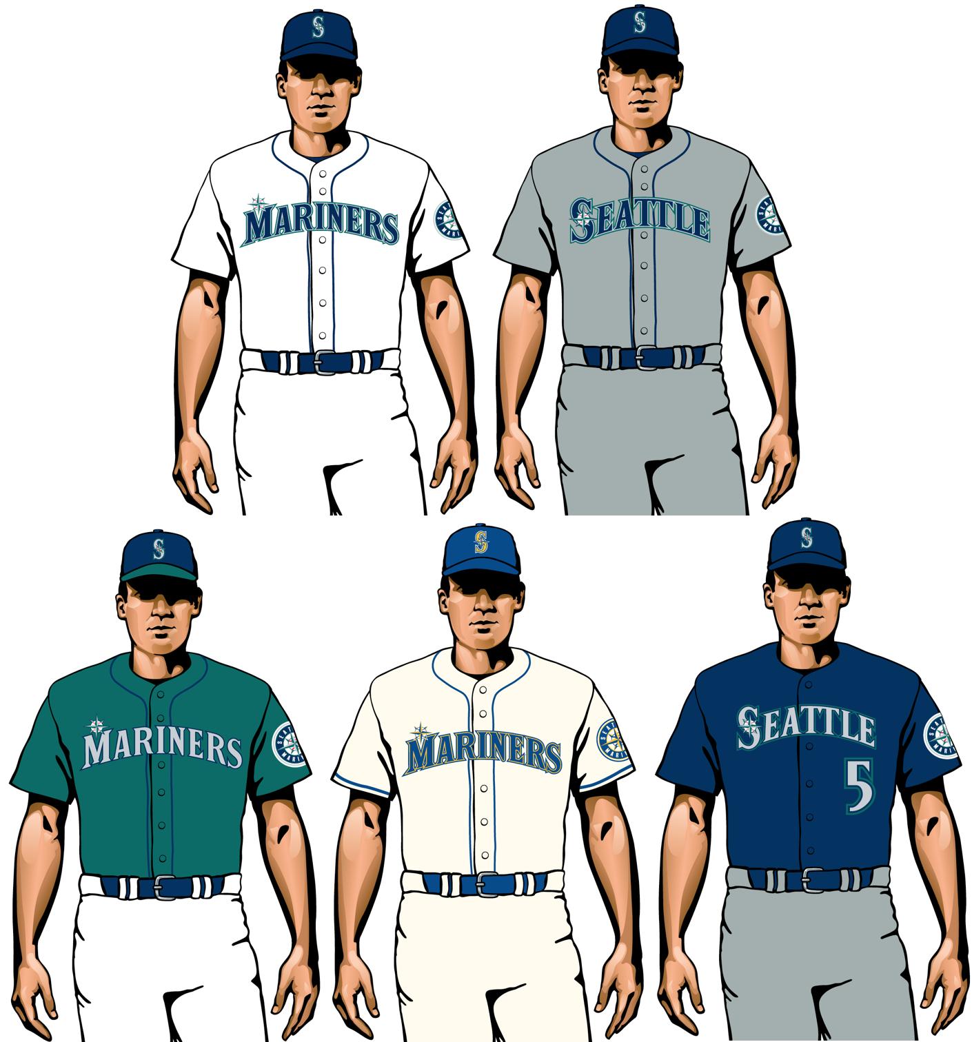 marineros de seattle 2020 uniformes