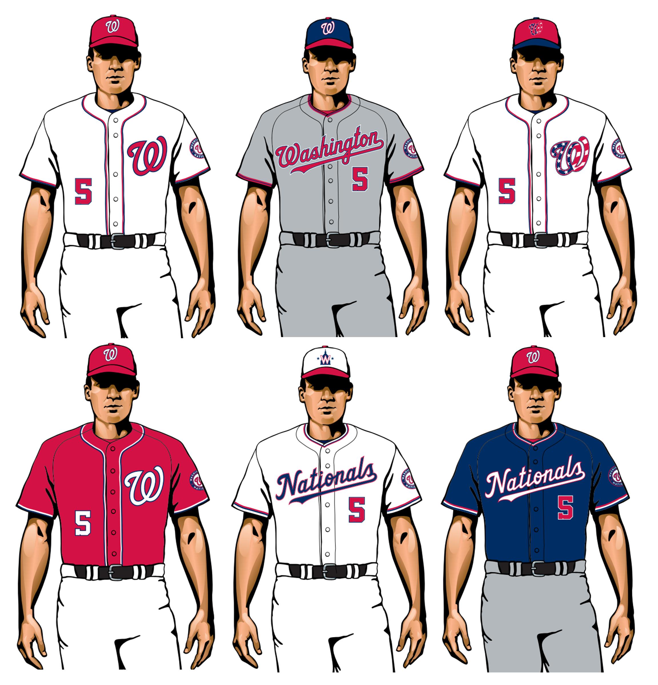 uniformes nacionales de washington 2020