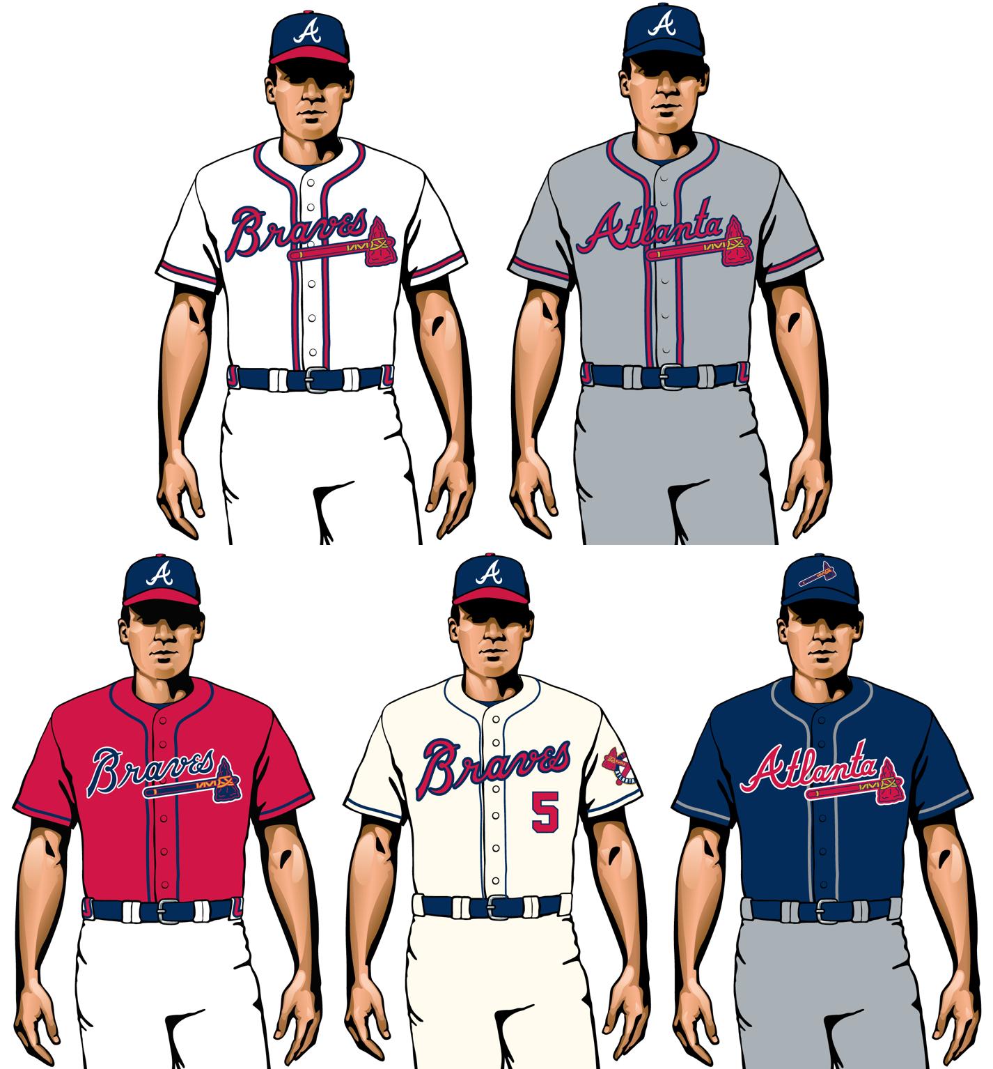 atlanta braves 2020 uniformes