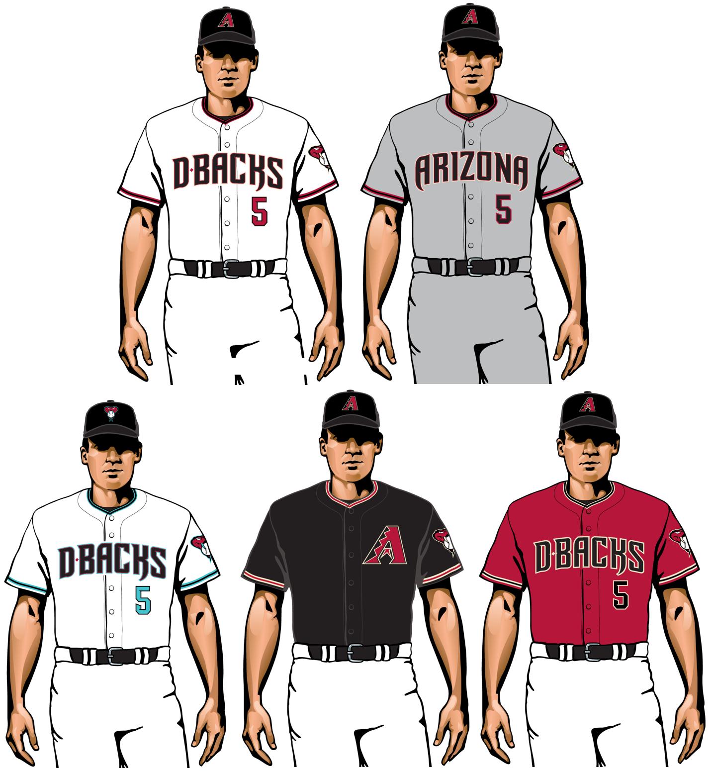 uniformes de arizona diamondbacks 2020