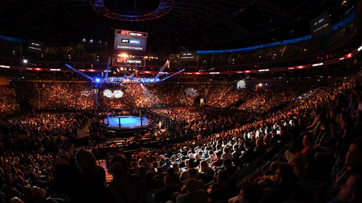Actualización del horario de UFC para 2020