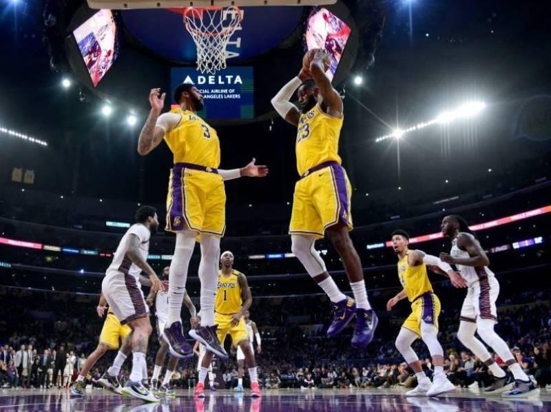 Brooklyn Nets puso fin a las victorias de los Lakers