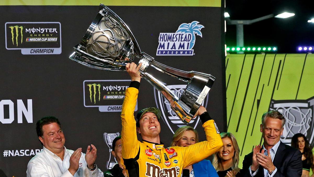 Busch gana el segundo título de la Copa NASCAR