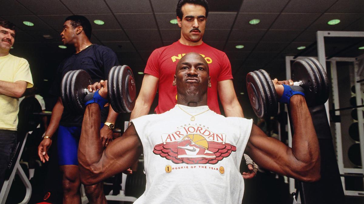 Cómo Jordan se hizo más fuerte para enfrentar a los Pistons