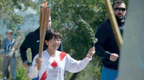 Corona cancela el relevo de la antorcha olímpica en Grecia