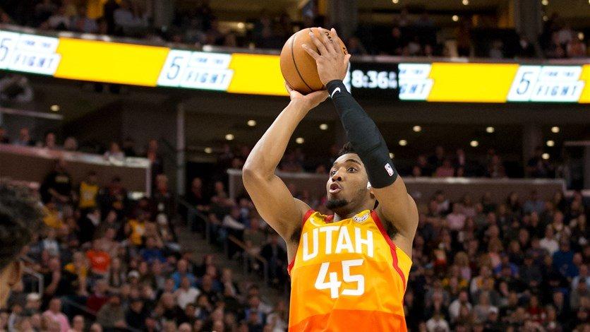 Después de Rudi Goubert ... Utah Jazz anuncia lesión a Donovan Mitchell