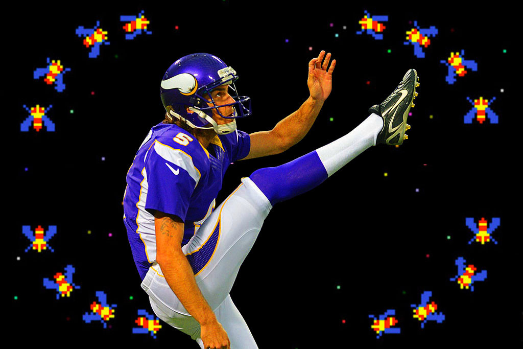 Chris Kluwe of the Minnesota Vikings