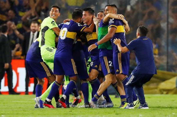 En imágenes, un escenario loco lleva a Boca Juniors a coronar ...