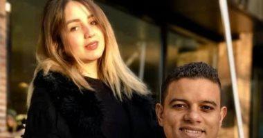 Foto historia ... Saad Samir y la dulce mitad lejos de ...