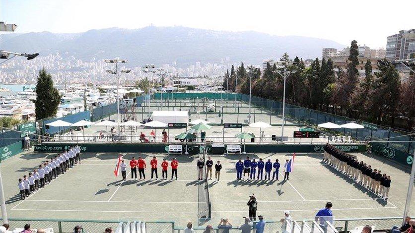 Líbano lidera el ranking internacional de tenis