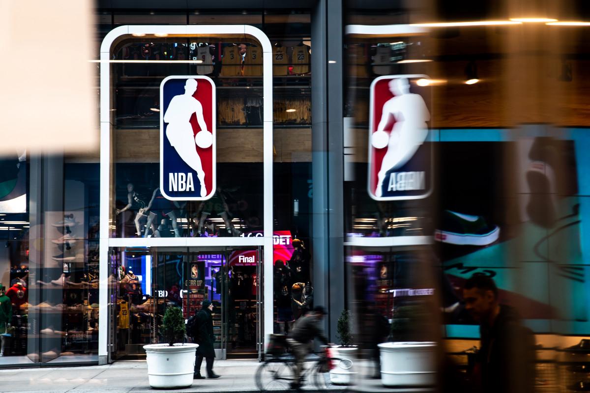 NBA coronavirus practice