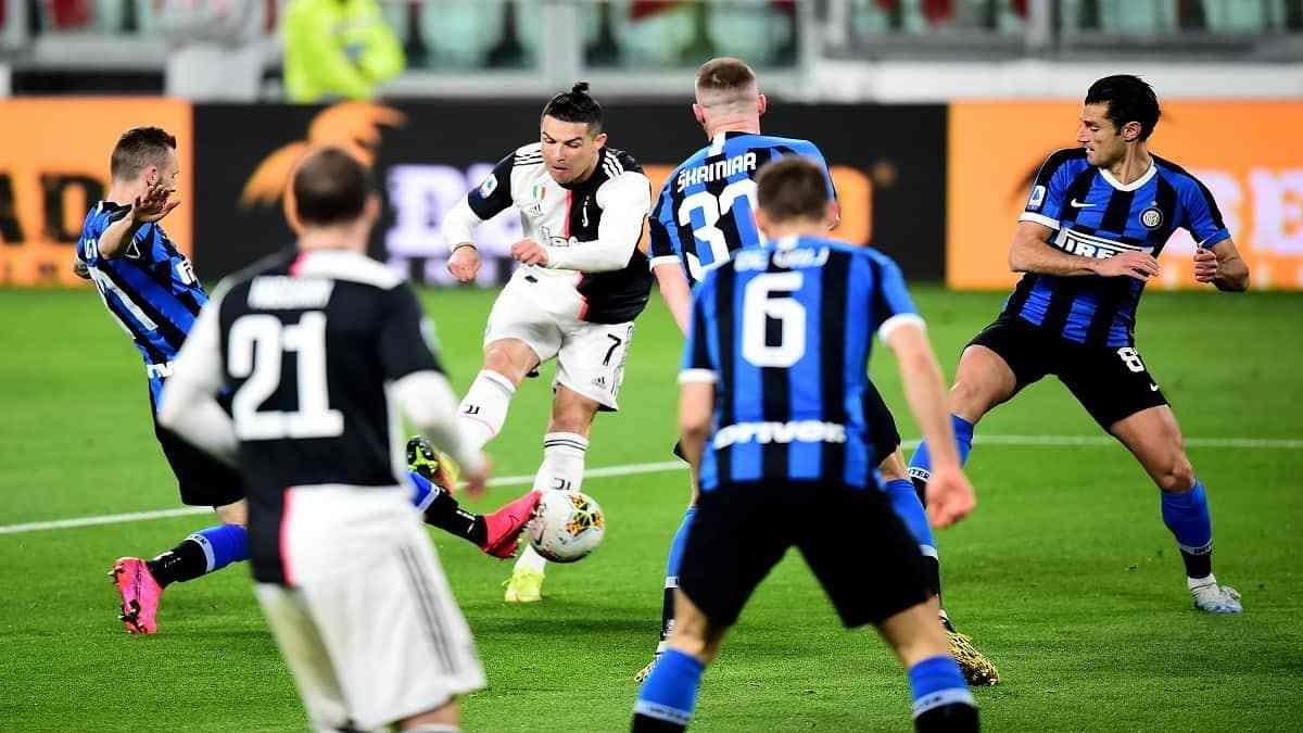 Los goles del partido Juventus e Inter en el partido italiano ...