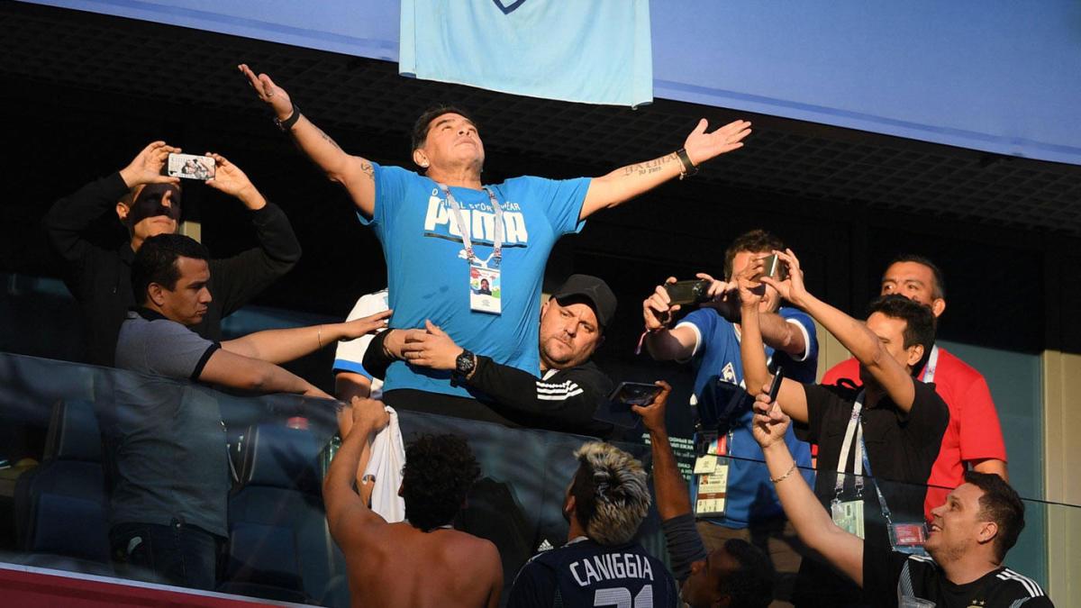 Maradona espera otra 'Mano de Dios'