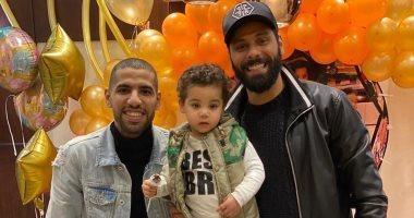 Moamen Zakaria baila en el cumpleaños de su hijo Malik ...