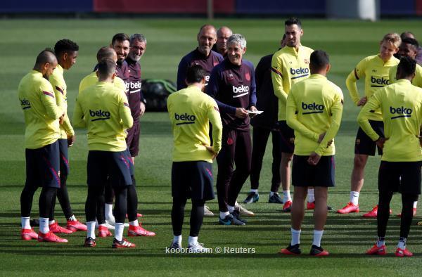 Oficialmente .. Barcelona congela sus actividades indefinidamente - goalzz.com