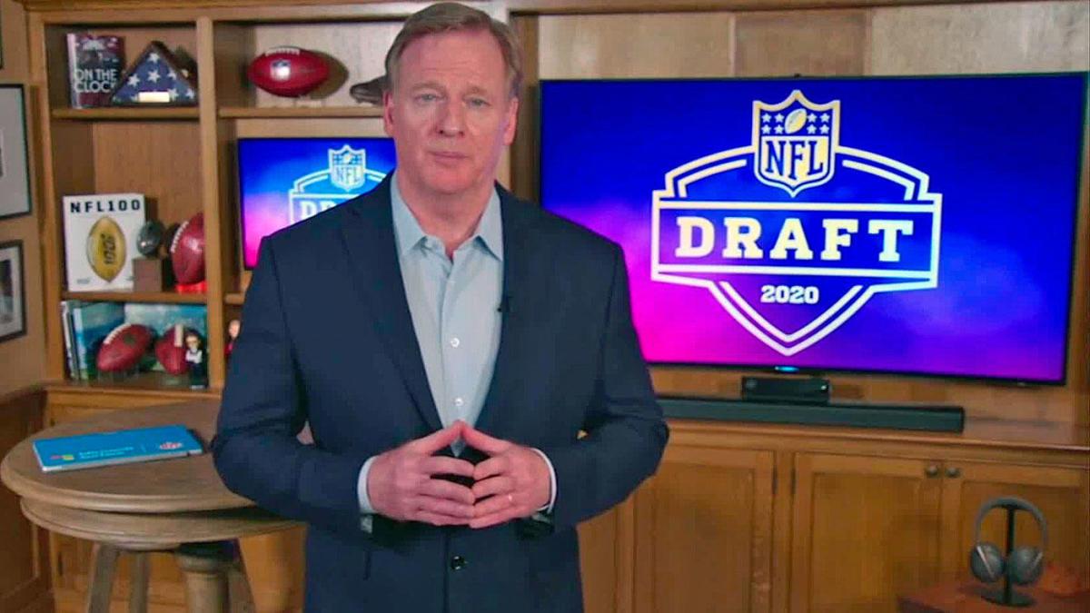 Qué puede tomar la NFL del draft virtual