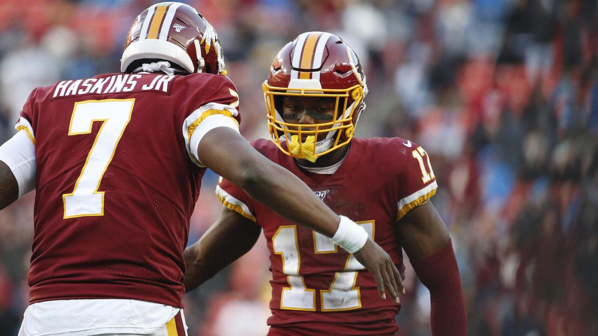 Redskins 2020 fuera de temporada mueve rastreador