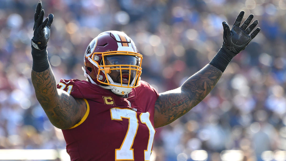 Trent Williams cambió a 49ers