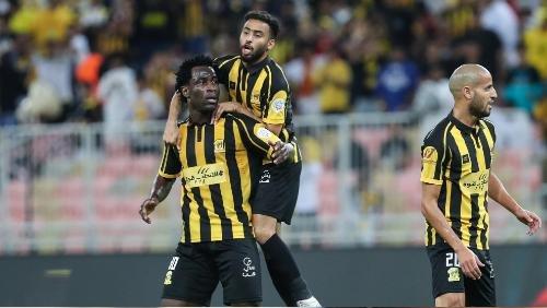 Una huelga por Al-Ittihad antes de encontrarse con Al-Shabab en la Copa Árabe