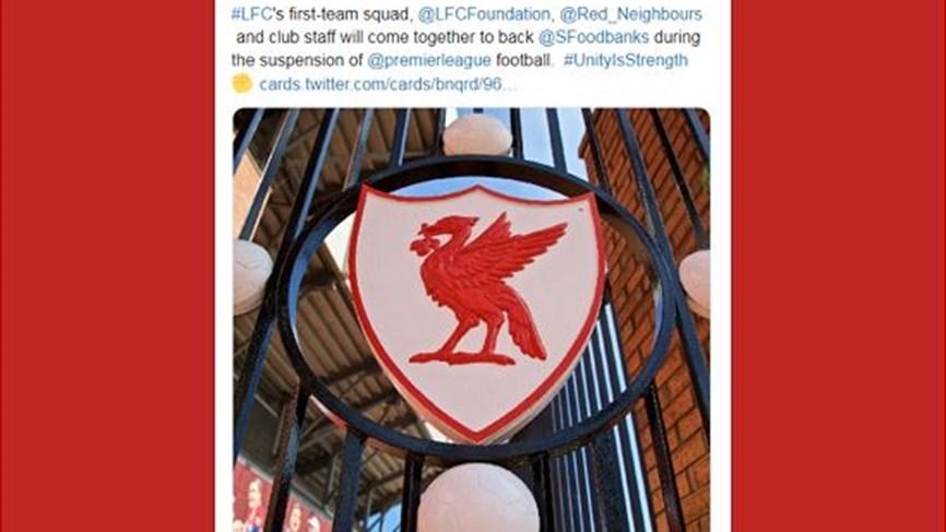Una iniciativa humanitaria de Liverpool frente a la Corona ...
