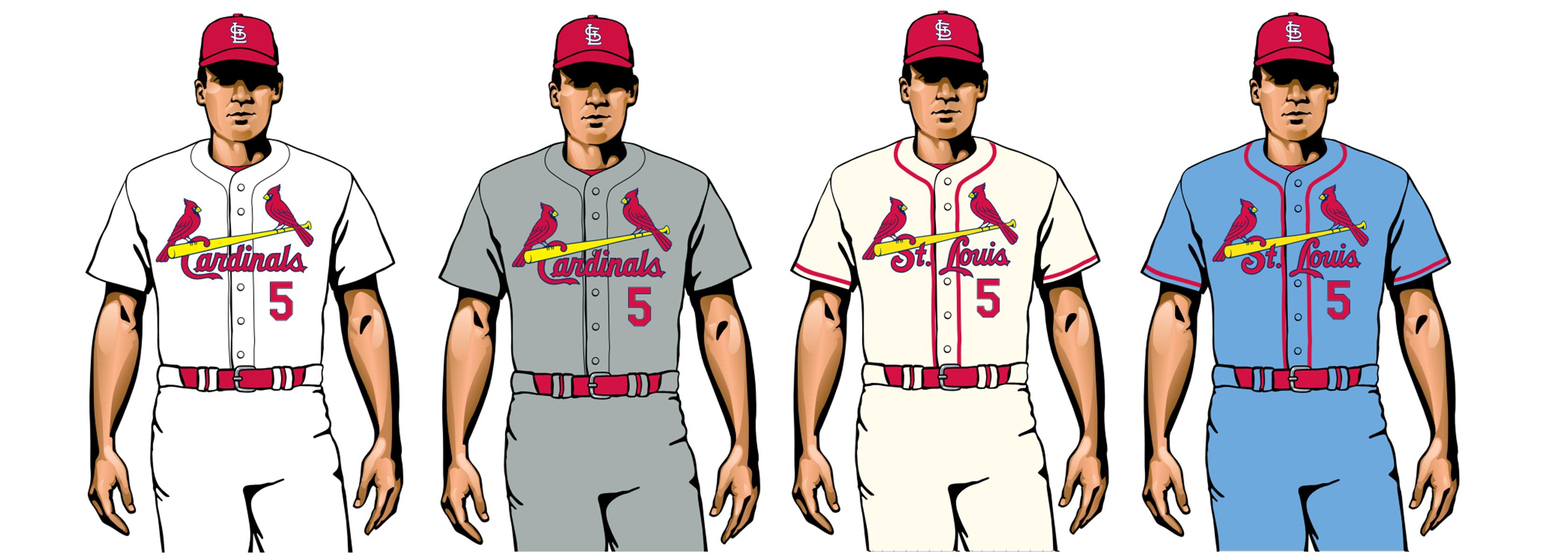 cardenales 2020 uniformes