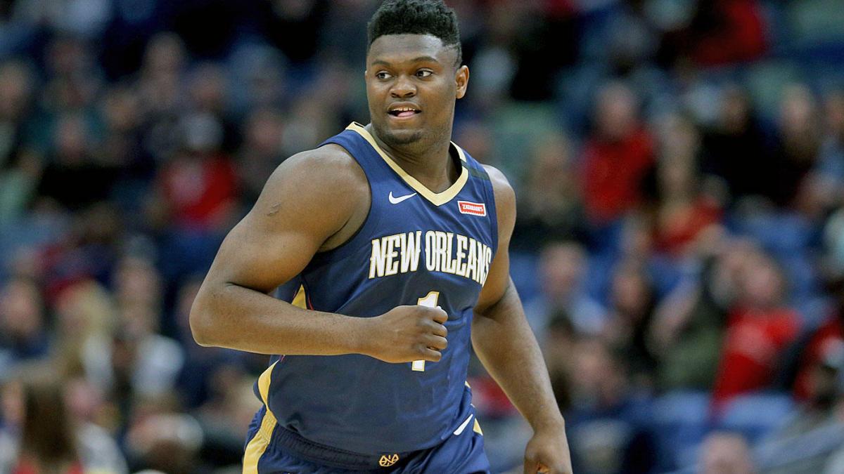 Zion está listo para comenzar cuando se reanude la NBA